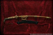 Японский меч тати старинный подлинник, оригинал.
