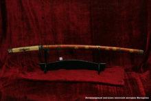 Японский меч тати самурайского клана Ханабиши