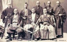 a_group_of_samurai_old_japan_images
