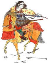 455px-Samurai_rider_in_battle